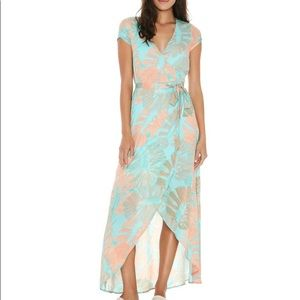 (NWT) L*Space Goa Dress in Bungalow Palm - S